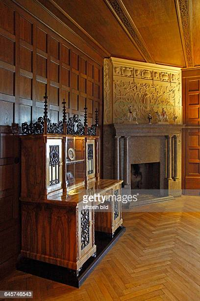 The Prince´s Wing of Coburg Castle The Duke´s living room also known as the Cranach Room because of the works by Cranach that once hung here The room...