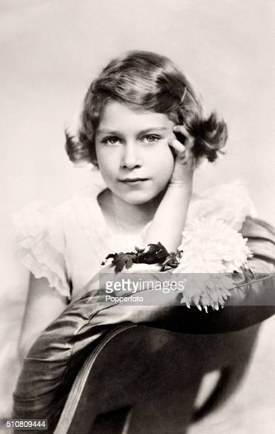 The Princess Elizabeth of York later Queen Elizabeth II circa 1934