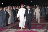 The Princess Lalla Hasna Marreis Khalid Benharbit In The Royal Palace Of Fes Fes 9 septembre 1994 Au palais royal le mariage de la princesse LALLA...