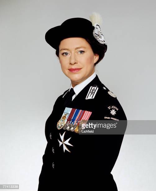 HRH The Princess Margaret Grand President of St John Ambulance on
