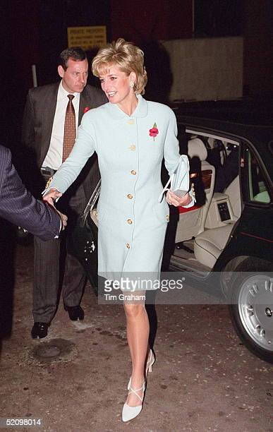 The Princess Of Wales Patron Of Help The Aged At The London Hilton Hotel To Present The 1995 Help The Aged Tunstall Golden Awards