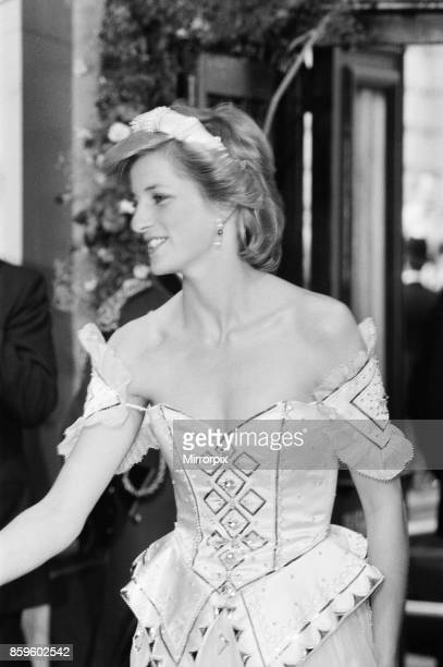 The Princess of Wales Princess Diana arrives at the Royal Opera House for the Royal Charity Premiere of Ivan The Terrible by the Bolshoi Ballet 22nd...