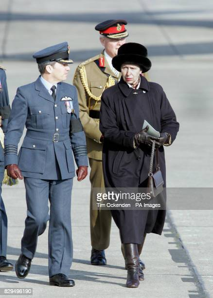 The Princess Royal watched the repatriation of the bodies of the ten servicemen killed when the C130 Hercules plane they were travelling in crashed...