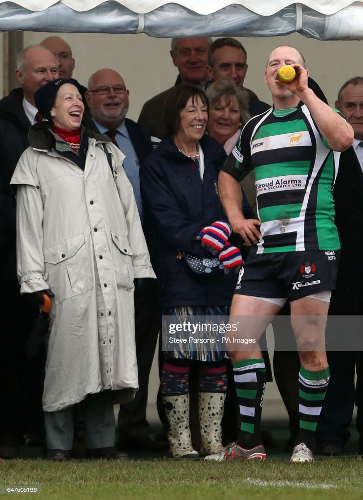 the-princess-royal-watches-her-soninlaw-mike-tindall-play-in-a-game-picture-id647505196
