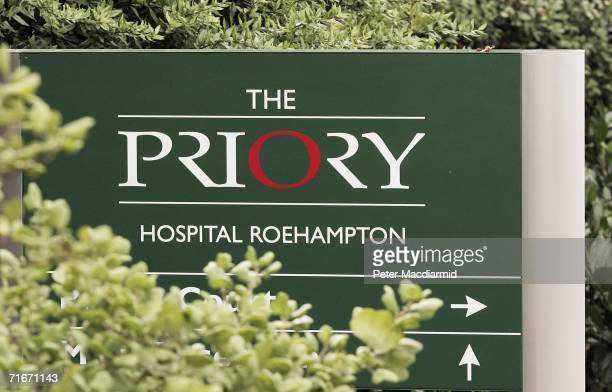 The Priory Clinic in Roehampton on August 18 2006 in London Singer Pete Doherty's bail conditions stipulate that he must stay at The Priory until...