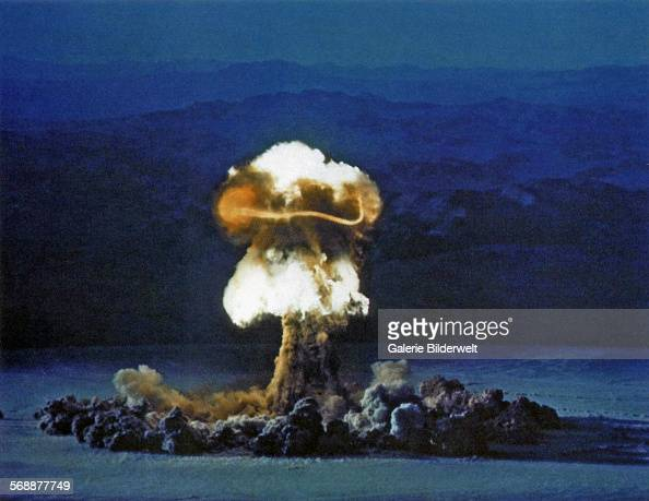 The Priscilla nuclear test part of Operation Plumbbob 25th June 1957 It was a series of nuclear tests conducted between May 28 and October 7 at the...