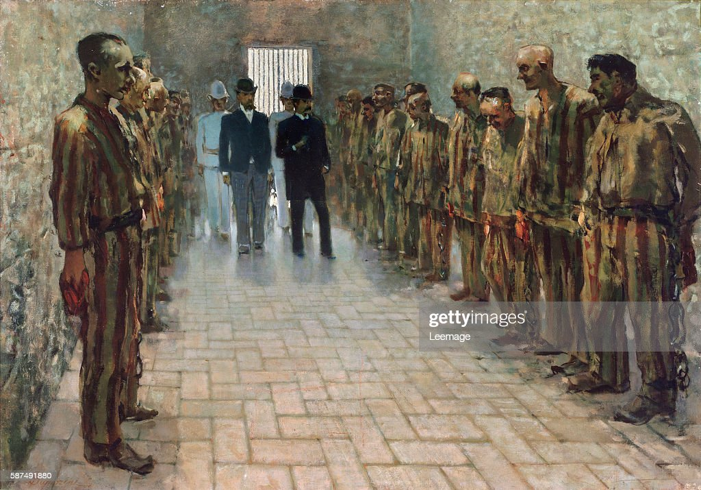 The prison of Portoferraio Elba Island by Telemaco Signorini 18881894 Oil on canvas 56 x 80 cm Galleria d'Arte Moderna Florence Italy