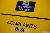 The prisoner complaints box on K wing of the YOI HMP YOI Littlehey Littlehey is a purpose build category C prison