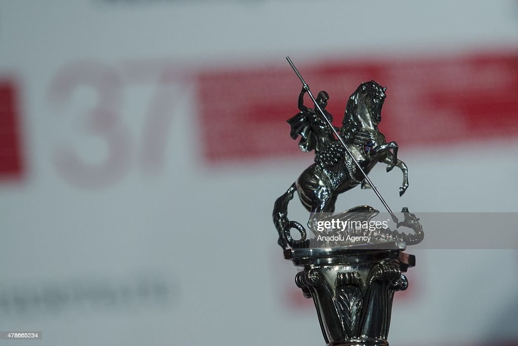 The prize 'Silver George' the closing ceremony for the 37th Moscow International Film Festival in Moscow Russia on June 262015