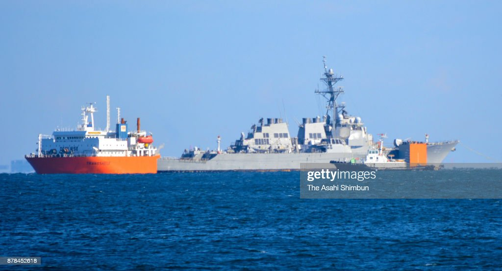 USS Fitzgerald Departs To Repair In US