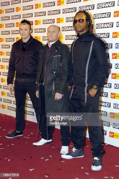 The Prodigy during Kerrang Awards 2006 Arrivals at The Brewery in London Great Britain