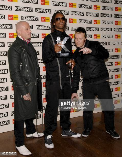 The Prodigy receives the Spirit Of Independence award