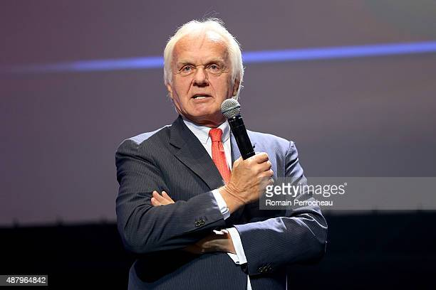The Producer Jan Mojto during the closing ceremony of the 17th Festival of TV Fiction At La Rochelle on September 12 2015 in La Rochelle France