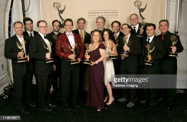 The producers and writers of 'The Simpsons' winners Outstanding Animated Program for the episode 'The Seemingly Never Ending Story'