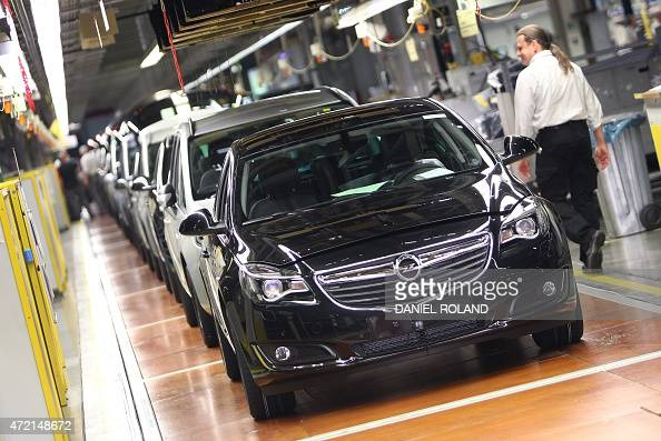 The production facility of German car maker Opel is pictured in Ruesselsheim Germany on May 4 2015 AFP PHOTO / DANIEL ROLAND