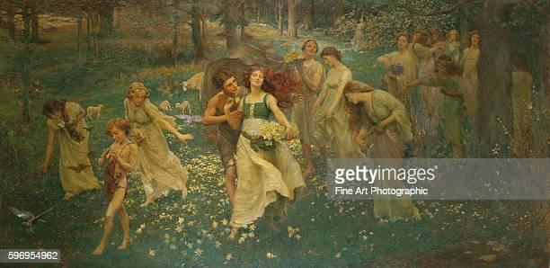 The Progress of Spring by Charles Daniel Ward
