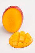 The proper way to slice a mango
