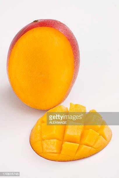 The proper way to slice a mango