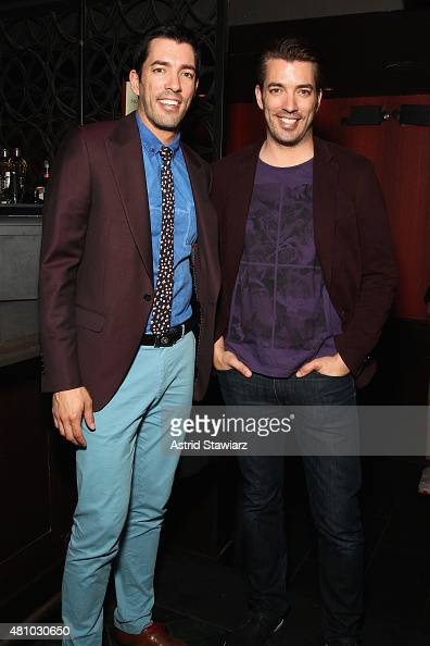 The Property Brothers Drew Scott and Jonathan Scott attend DuJour Magazine's Jason Binn and Casa de Campo's celebration of Rob Gronkowski with Bruce...