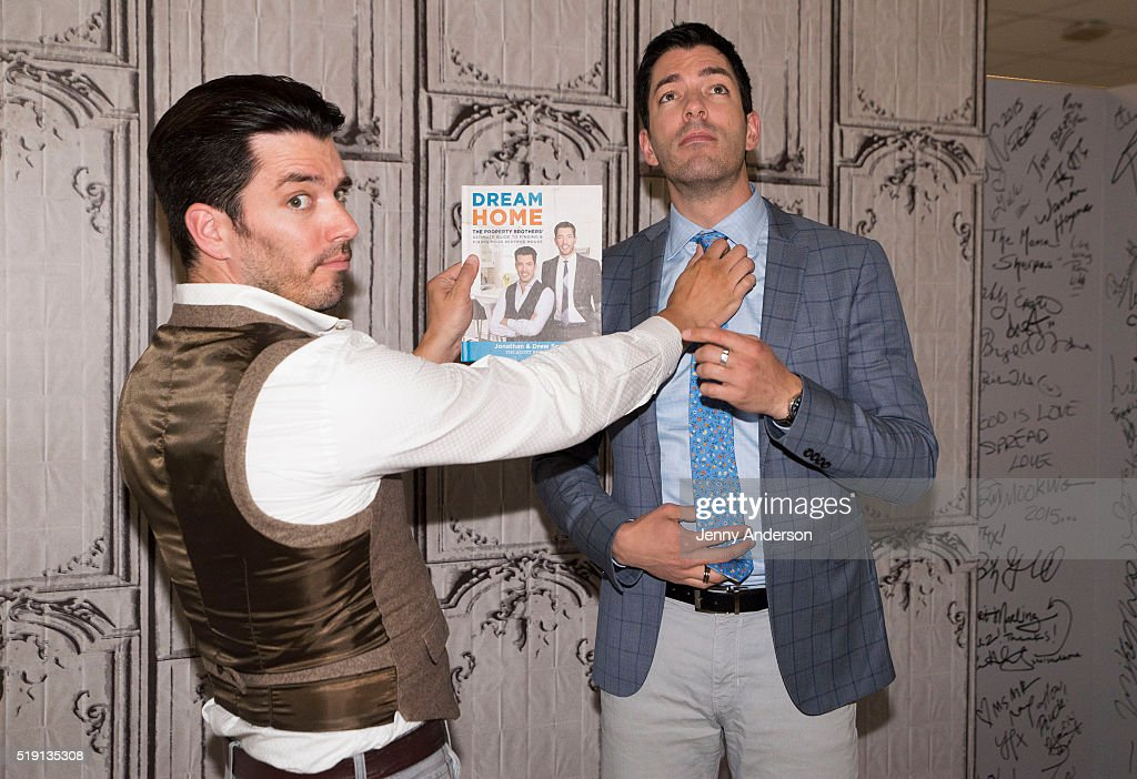 the property brothers jonathan scott and drew scott attend aol build series at aol on april - Where Are The Property Brothers