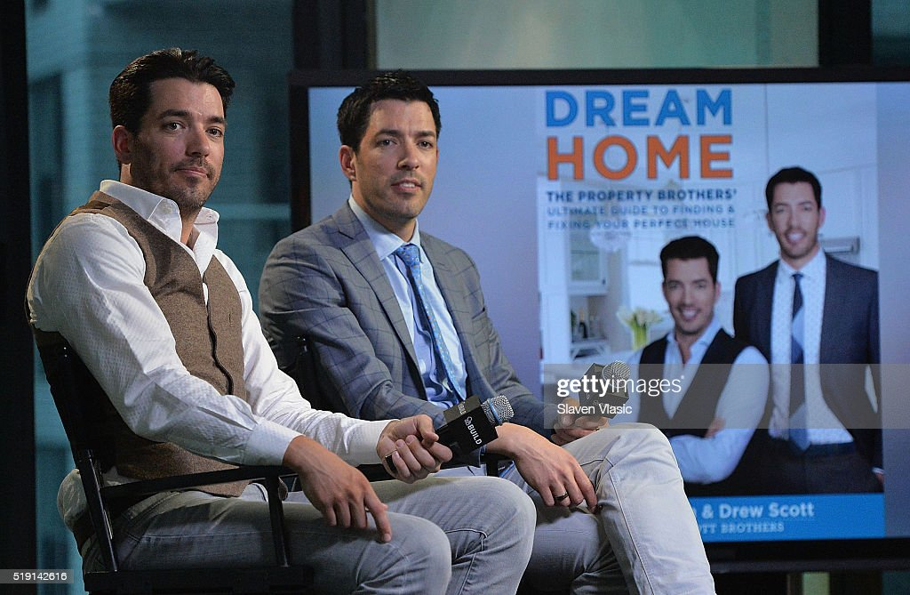 the property brothers jonathan scott and drew scott discuss their book u0027dream home - Drew Scott
