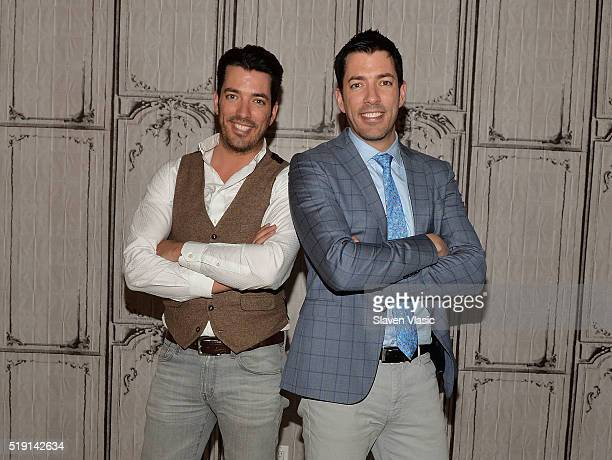 The Property Brothers Jonathan Scott and Drew Scott visit AOL Build to discuss their book 'Dream Home The Property Brothers Ultimate Guide to Finding...