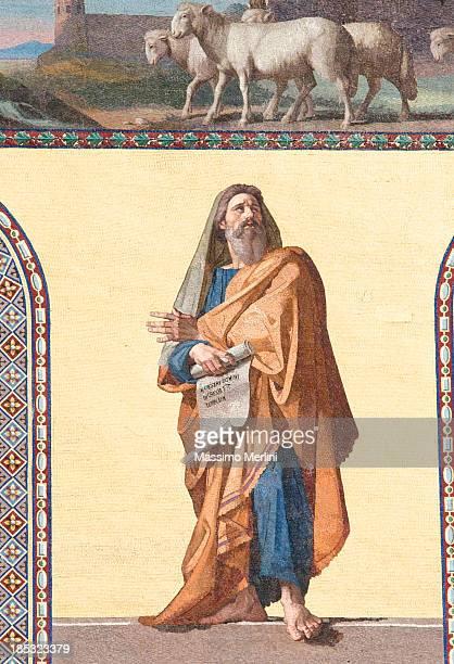 The prophet Geremia
