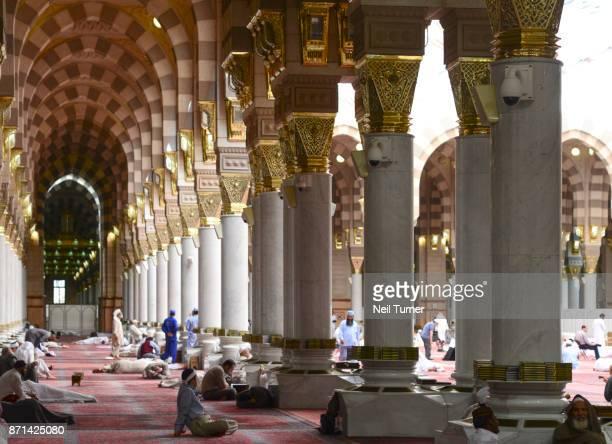 The Prophet's Mosque. Medina. Saudi Arabia.
