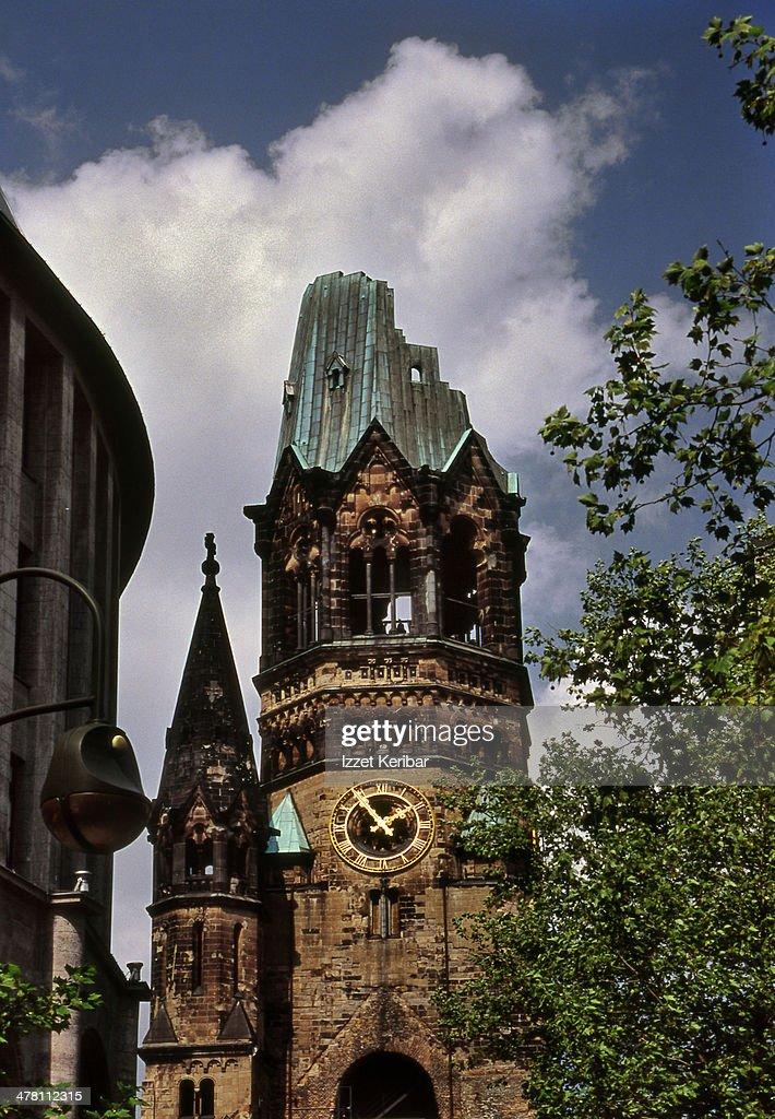 The Protestant Kaiser Wilhelm Memorial Church