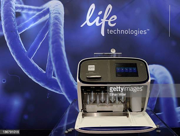 The Proton Semiconductor Sequencer from Ion Torrent Systems Inc a new DNA sequencing machine and chip designed to sequence the entire human genome in...