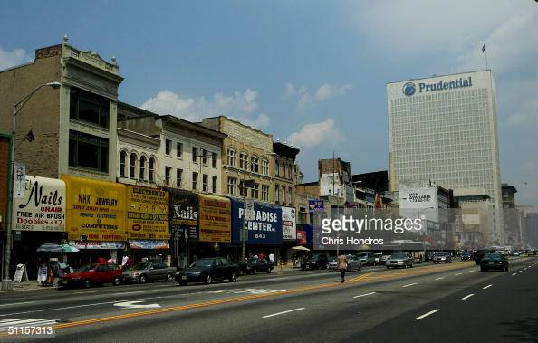 The Prudential Insurance Company building stands August 10 2004 in Newark New Jersey Security has been tight at the landmark Newark building since...