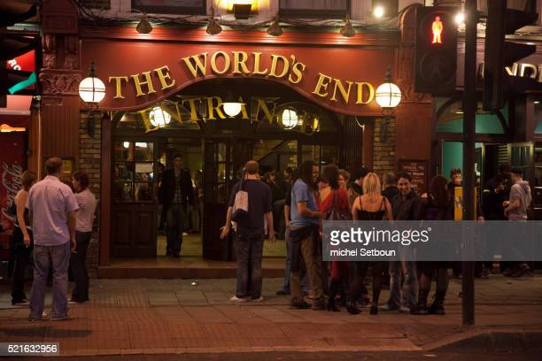 The pub World's end in London Camden