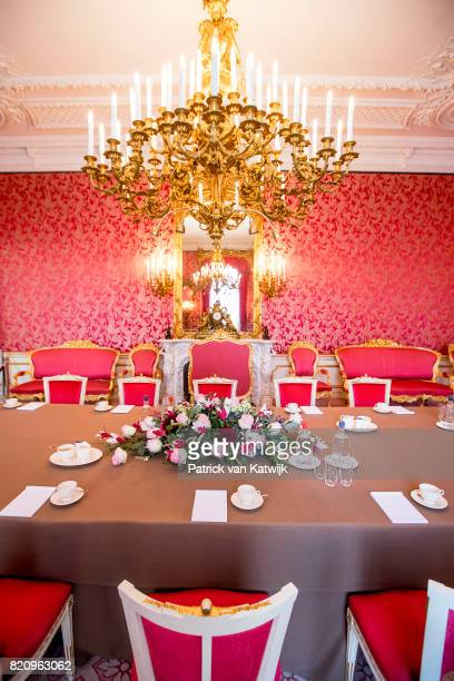 The Putti Room where the King and his staff have their weekly meeting with their staff in Palace Noordeinde on July 22 2017 in The Hague Netherlands...
