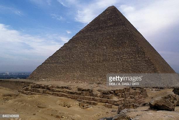 The Pyramid of Cheops Giza Necropolis Egypt Egyptian civilisation Old Kingdom Dynasty IV