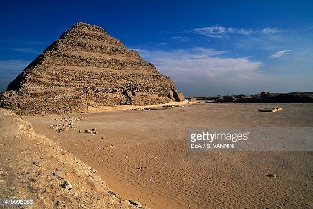 The Pyramid of Djoser Saqqara Necropolis Memphis Egypt Egyptian civilisation Old Kingdom Dynasty III