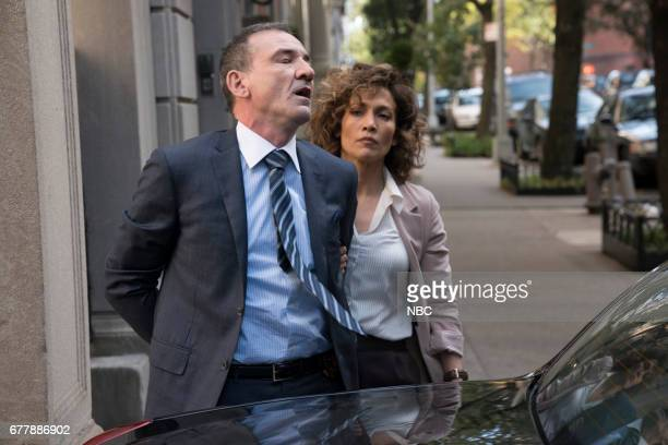 BLUE 'The Quality of Mercy' Episode 211 Pictured Ritchie Coster as Bianchi Jennifer Lopez as Harlee Santos