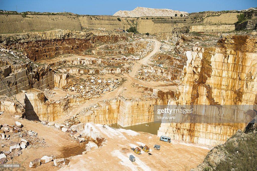 the quarry : Stock Photo