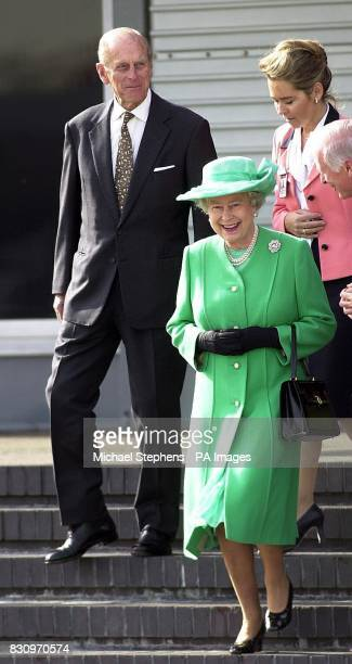 The Queen accompanied by the Duke of Edinburgh at Heathrow prior to leaving for Canada The Queen is travelling to the Arctic to celebrate her Golden...