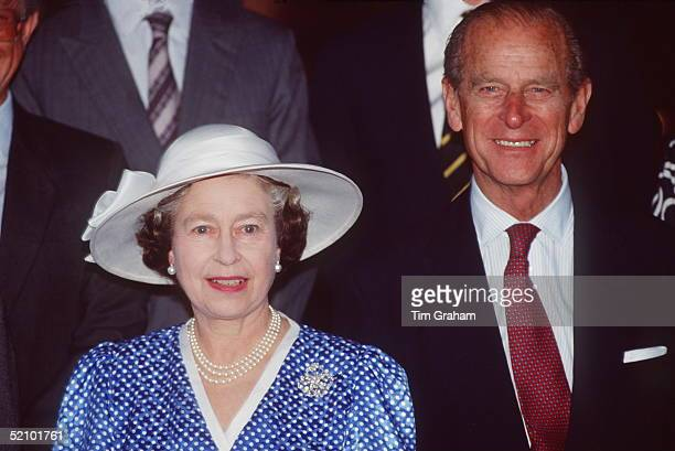 The Queen And Prince Philip Together In Singapore