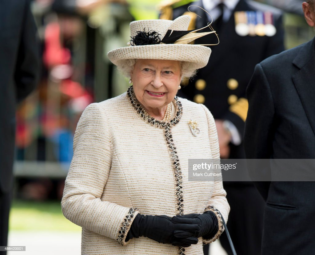 The Queen and The Duke of Edinburgh attend a Service at Chelmsford Cathedral, as part of the centenary celebrations of Chelmsford Diocese. on May 6, 2014 in Chelsmford, Uinited Kingdom.
