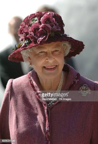 The Queen as she opens the new planetarium and education centre at the Royal Observatory National Maritime Museum Greenwich