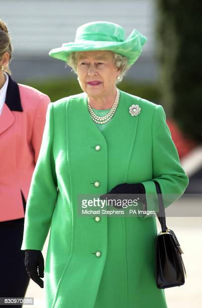 The Queen at Heathrow Airport prior to leaving for Canada The Queen is travelling to the Arctic to celebrate her Golden Jubilee with the Inuit people...