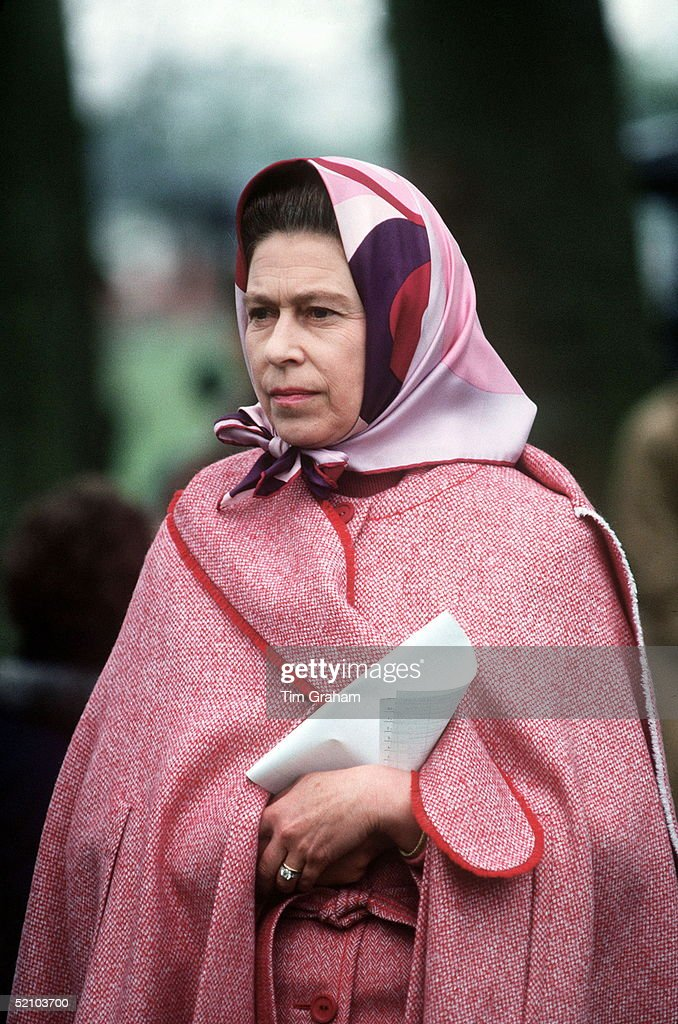 The Queen At The Royal Windsor Horse Show