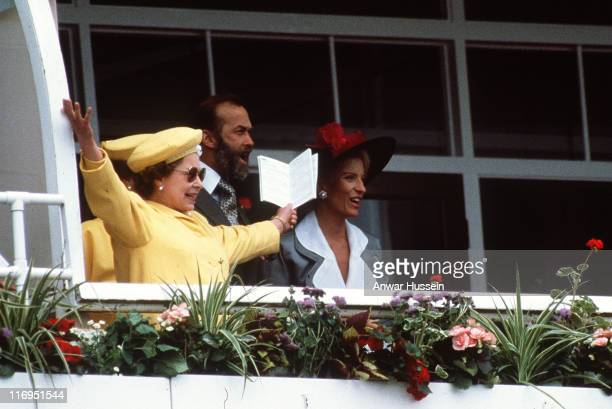 HM The Queen Elizabeth and Princess Michael of Kent