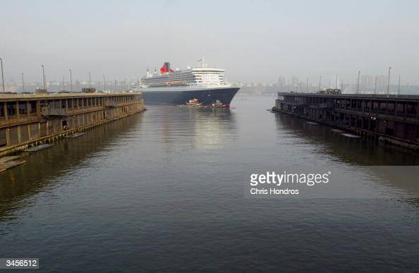 Queen Mary 2 Docks In New York Pictures  Getty Images