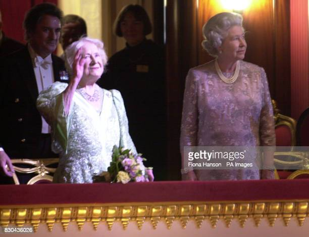 The Queen Mother celebrated her 100th birthday at the ballet joined in the Royal Box by her daughter Queen Elizabeth II For the Queen Mother's...