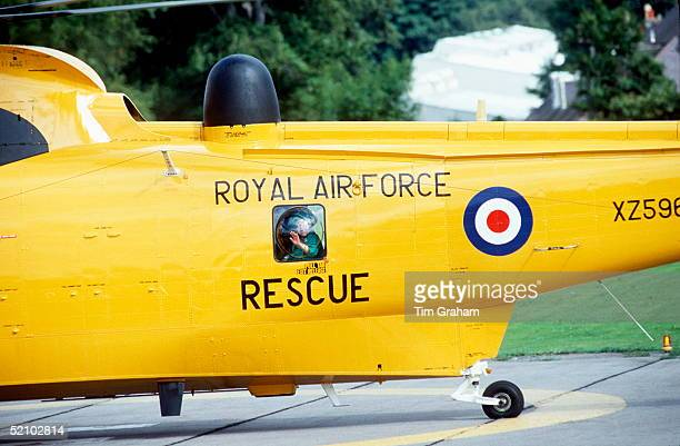 The Queen Mother Was Taken By Royal Air Force Rescue Helicopter To Aberdeen Infirmary When A Fish Bone Lodged In Her Throat