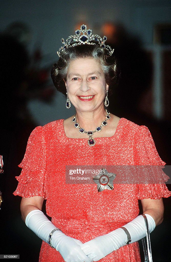 Queen Elizabeth Wears A Royal Rainbow