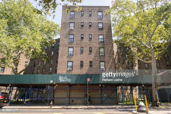 The Queensbridge North Houses in Queens in New York on Thursday July 16 2015 Federal prosecutor Preet Bharara announced that an investigation has...