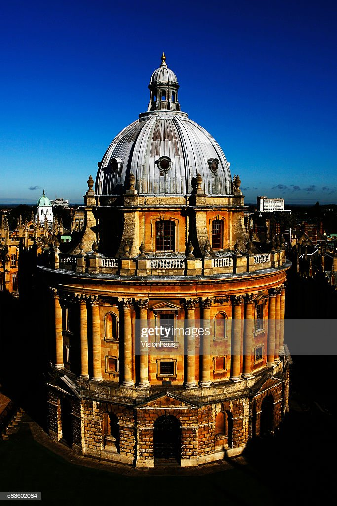 The Radcliffe Camera Radcliffe Square Oxford Affectionately named 'the city of dreaming spires' by nineteenth century English poet Matthew Arnold a...